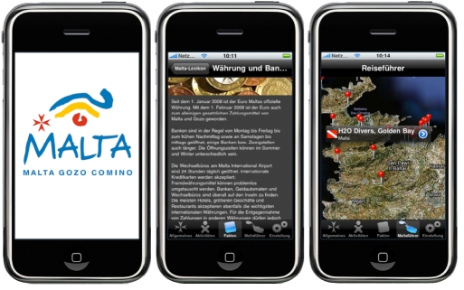 Malta iPhone App
