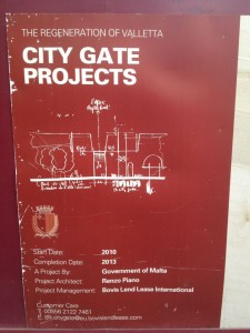 Valletta City Gate Projects
