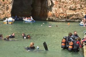 Schnorcheln und Tauchen in Malta