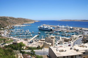 Hafen auf Gozo