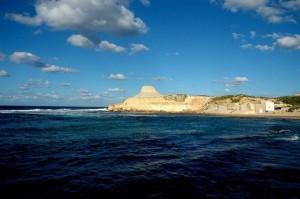 Blick auf die Küste Maltas