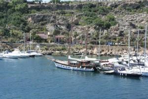 Blick auf Gozos Küste